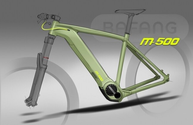 Bafang newest M500 and M600 mid drive system