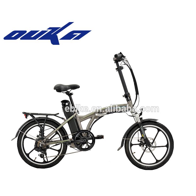 20 inch 3 or 6 spoke motor wheel folding electric bicycle