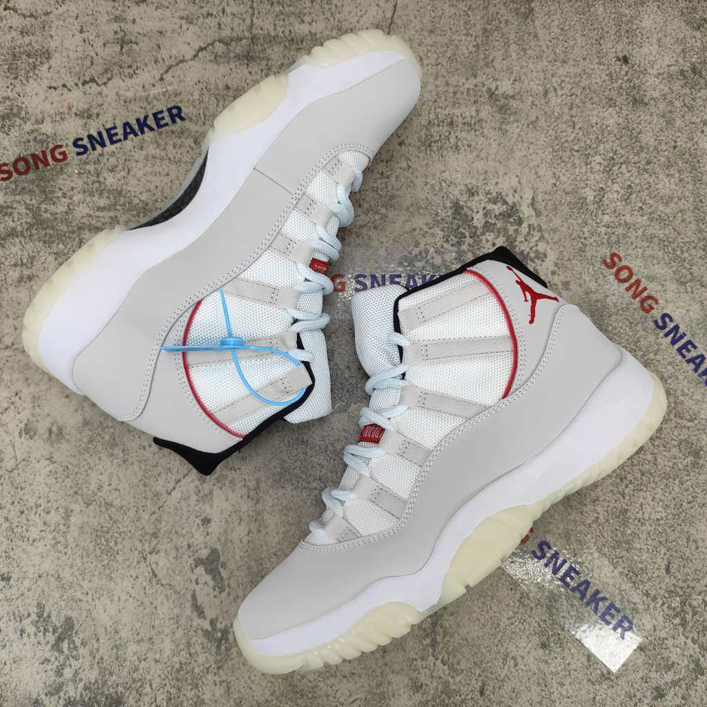 Air Jordan 11 High Retro Platinum Tint