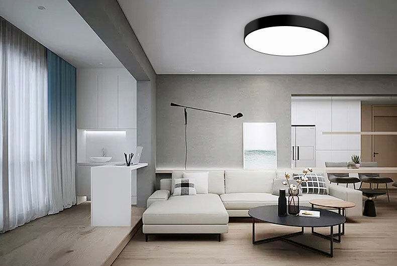 30w surface mounted round led ceiling light