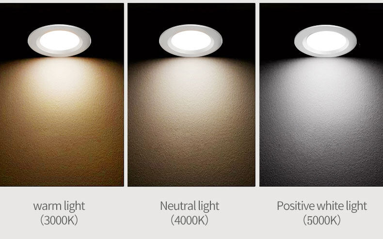 led SMD recessed downlight RA≥80 warm light/neutral light/white light