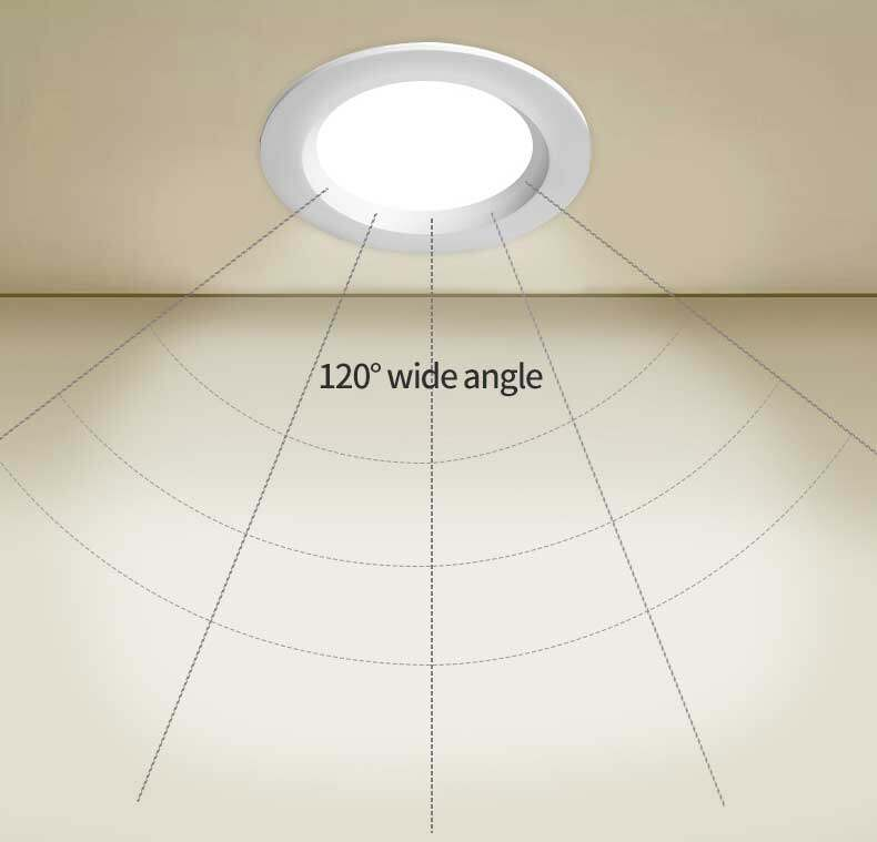 led smd recessed downlight