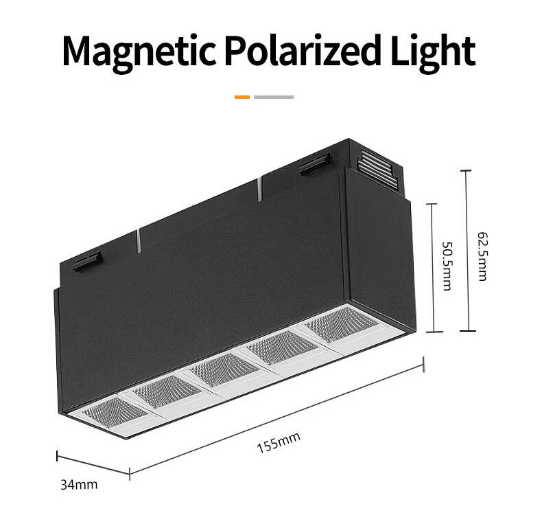 34 series-magnetic 48V 10w polarization light