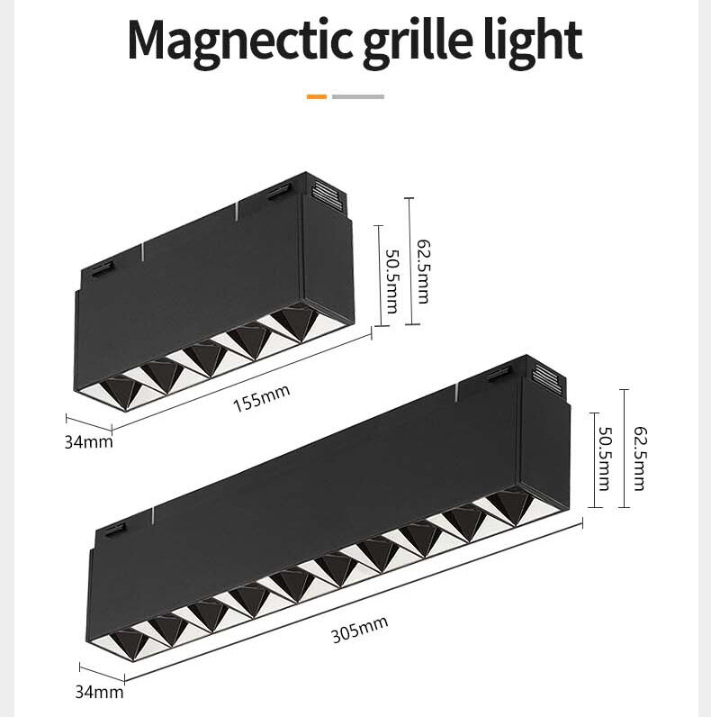 34 series-magnetic 10w 20w grille light
