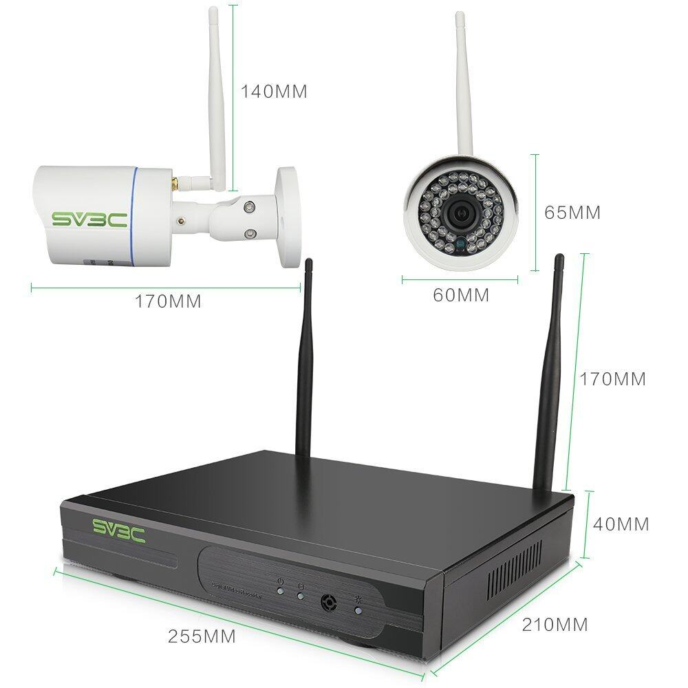 720P Wifi Wireless Outdoor/home Video Security Camera System