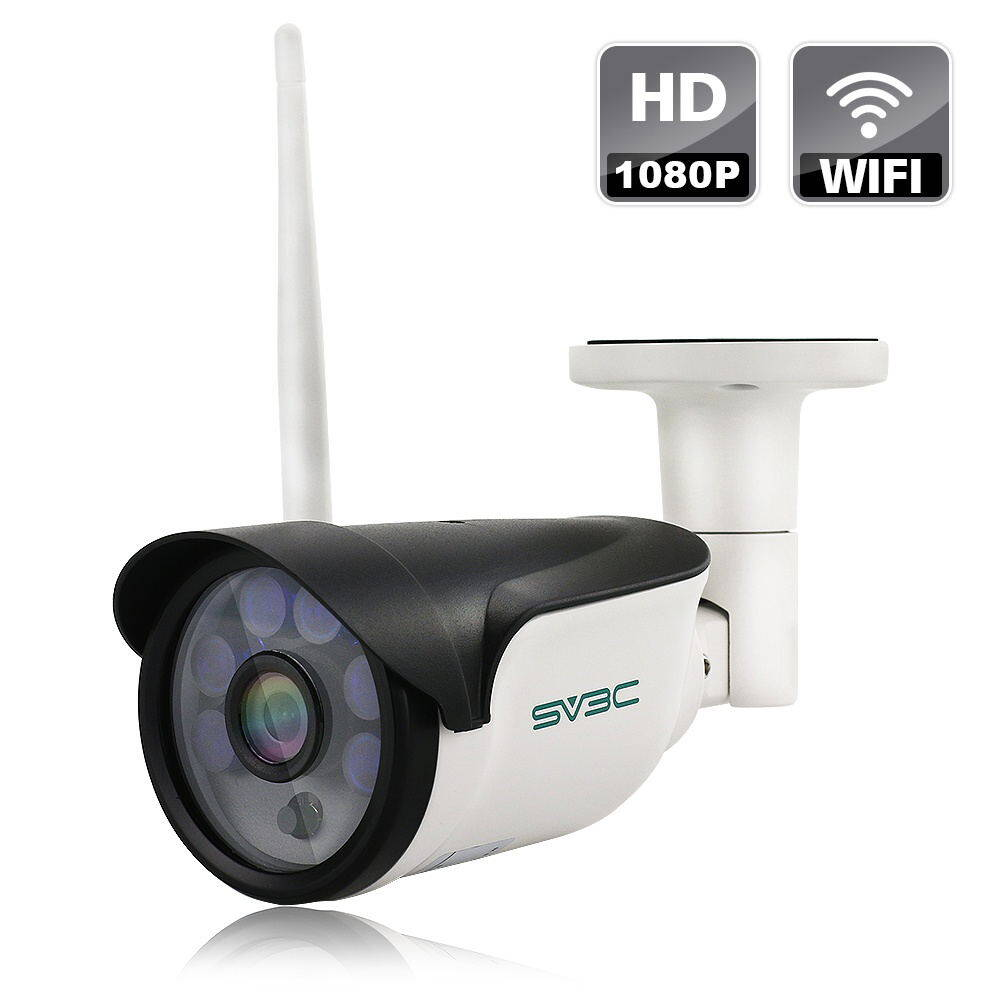 1080P HD Wireless Outdoor/Home Security IP Camera Bullet Camera