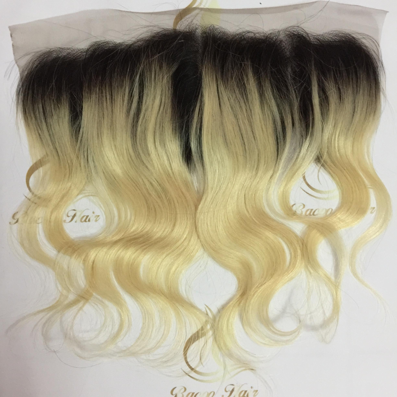 1b/613 frontal 13*4 closure swiss lace wet wave body straight plutium blonde  best hot sale qualitymalaysian body wave,1b/613 frontal 13*4 closure swiss  lace ...