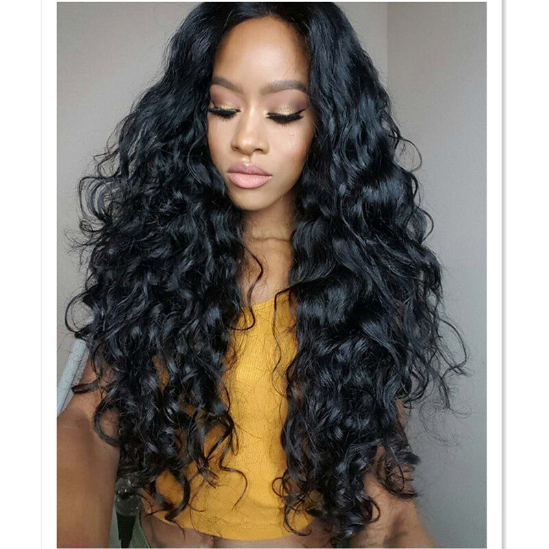 2aea61236 10A Deep Wave full lace wig virgin human hair 130% 150% 180% density; 10A  ...