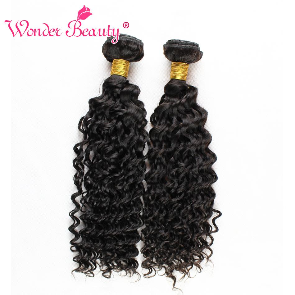 Peruvian Human Hair Bundles Deep Curly Wavy Extensions 3pcslot