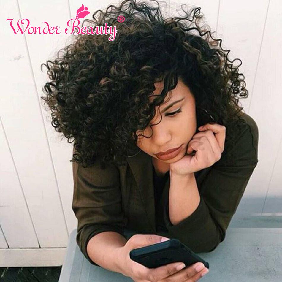 Indian Virgin Hair Deep Curly Wonder Beauty Hair 3 Bundles Per Lot