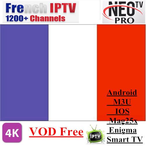 Neotv pro Volka TV pro 1400 Channels Europe Arabic French Belgium IPTV  subscription Account