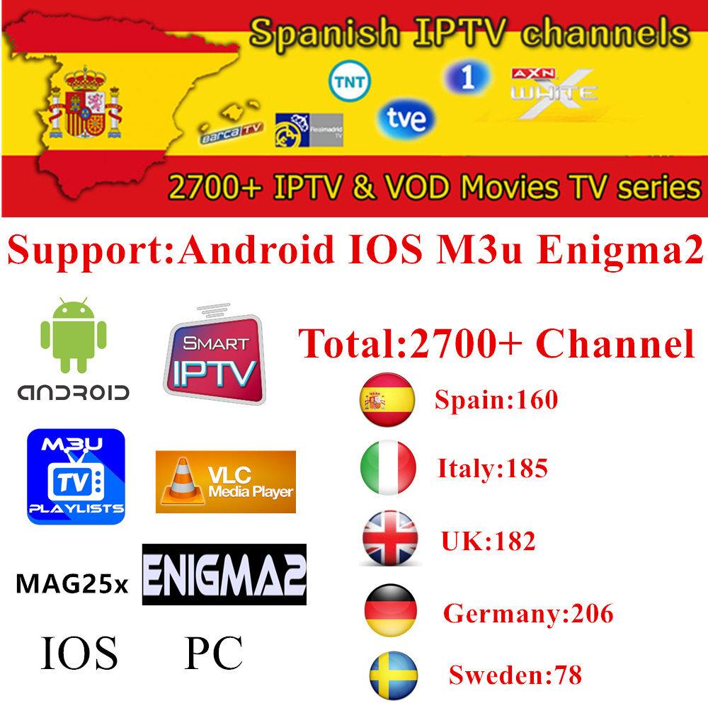 Toprock IPTV 3000+Live 4000+ Vod europe IPTV for UK Spain holland etc