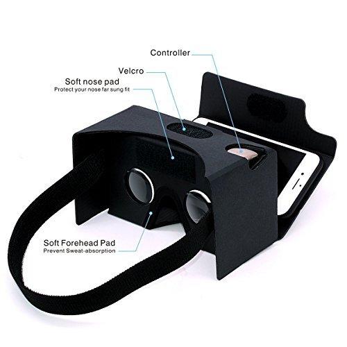 Google Cardboard Gana 3d Vr Headset Virtual Reality Diy