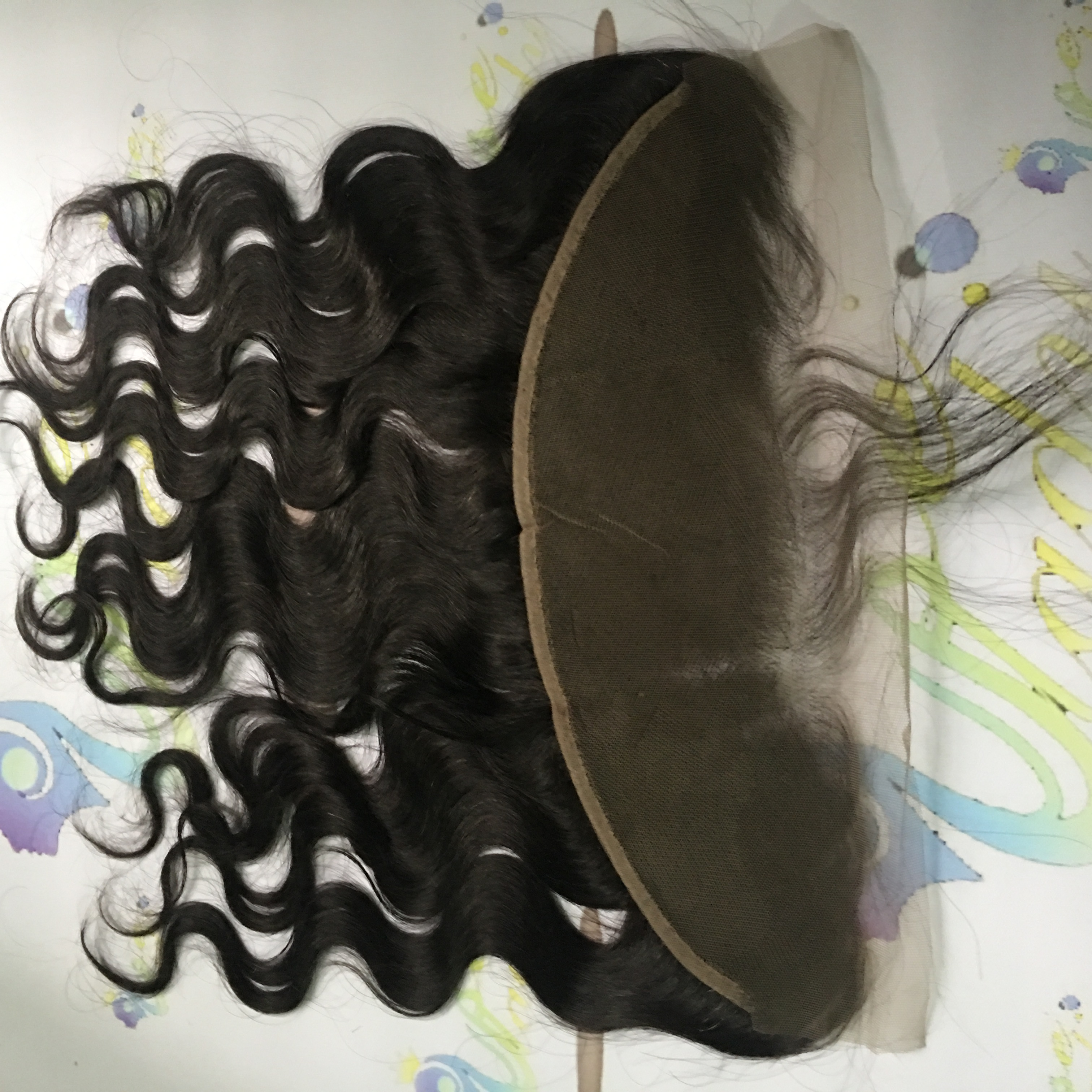 Soft And Smooth Body Wave Brazilian Hair Extensions With Lace