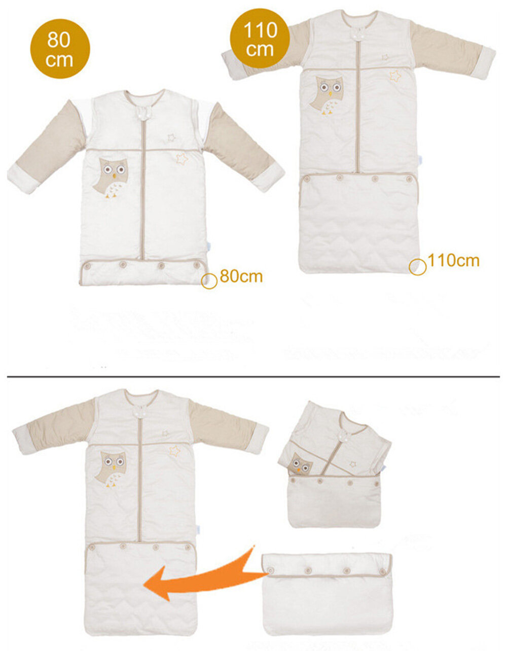baby sleeping bag winter design