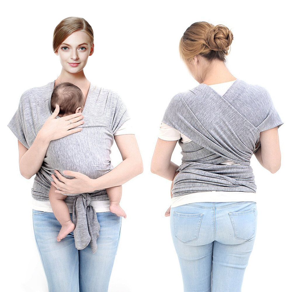 baby carrier cloth sling for mom dad travel breastfeeding