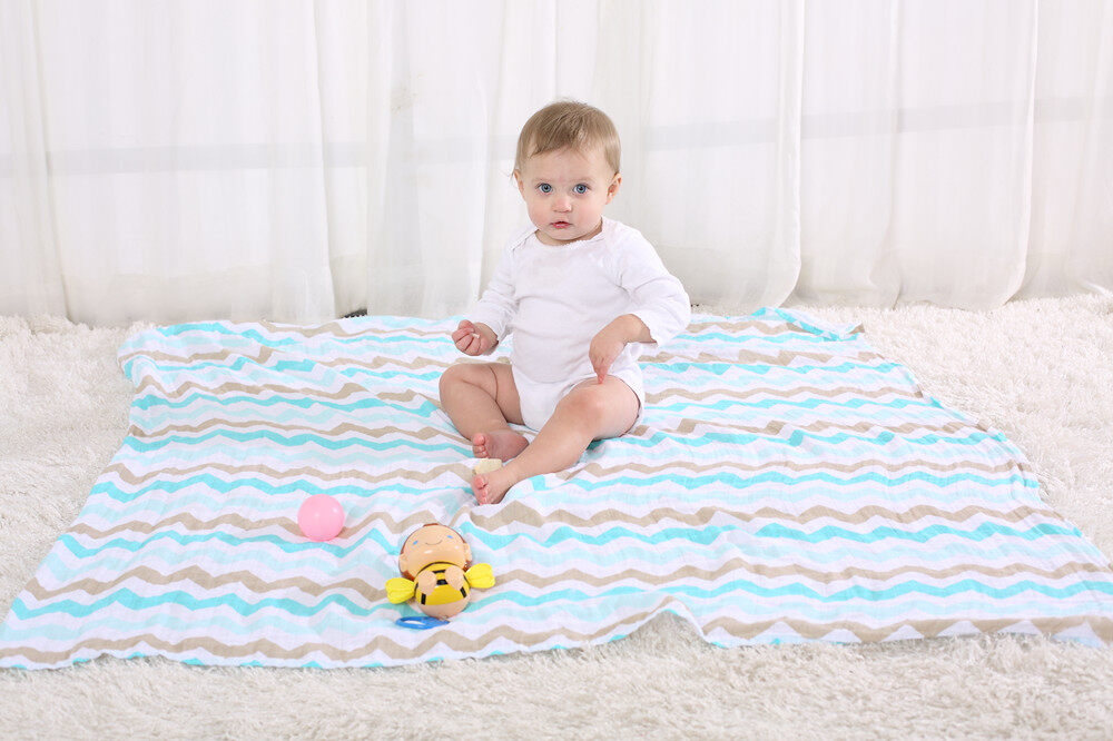 100% organic cotton blanket application