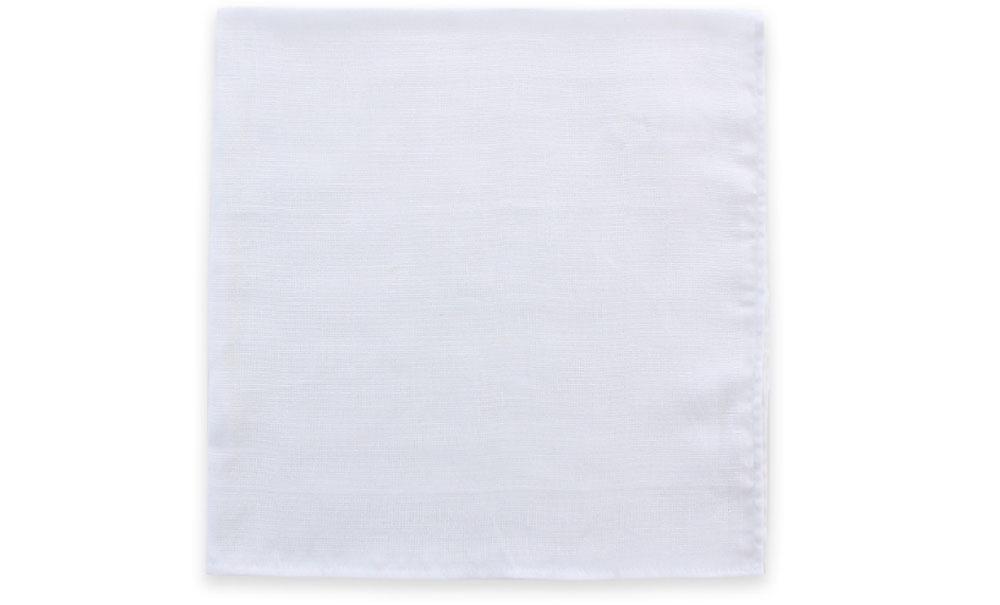 2PCS pure white muslin diaper