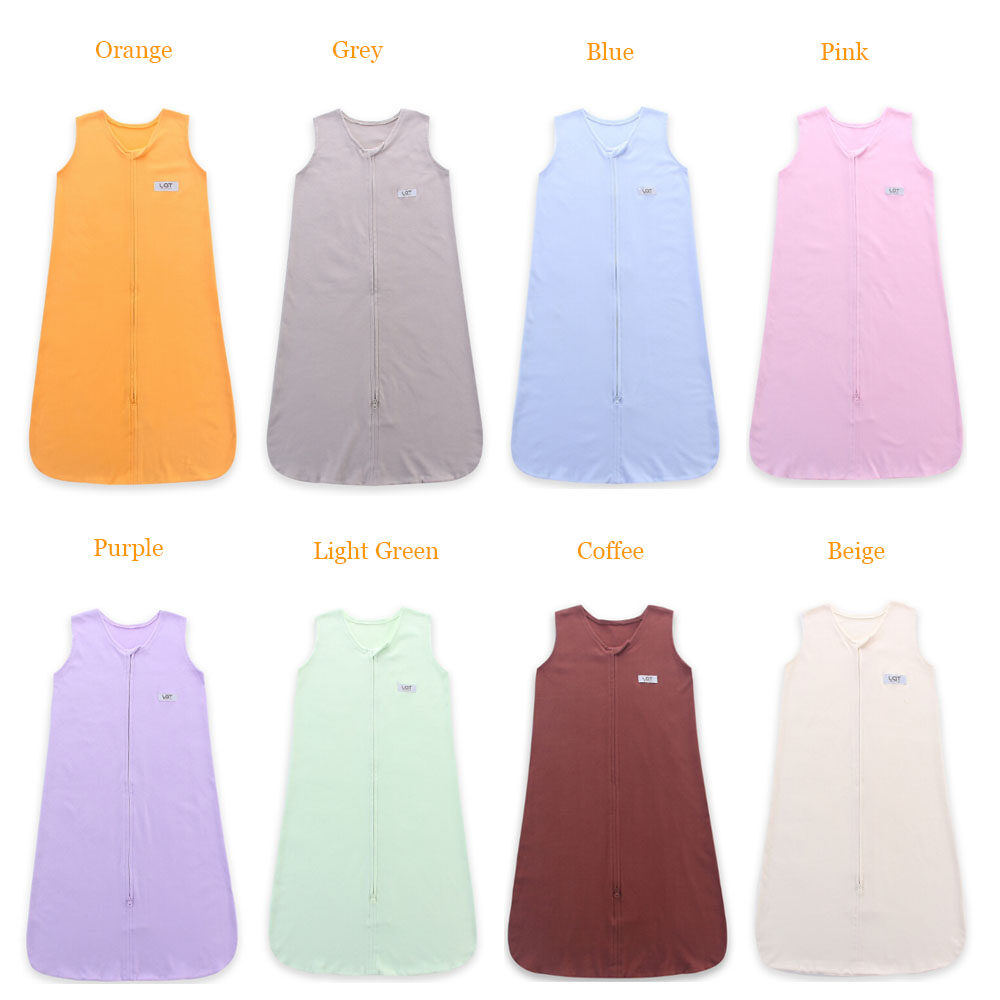 8 pure color patterns jersey cotton sleeping bag
