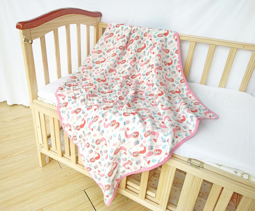 cotton muslin bed receiving blankets