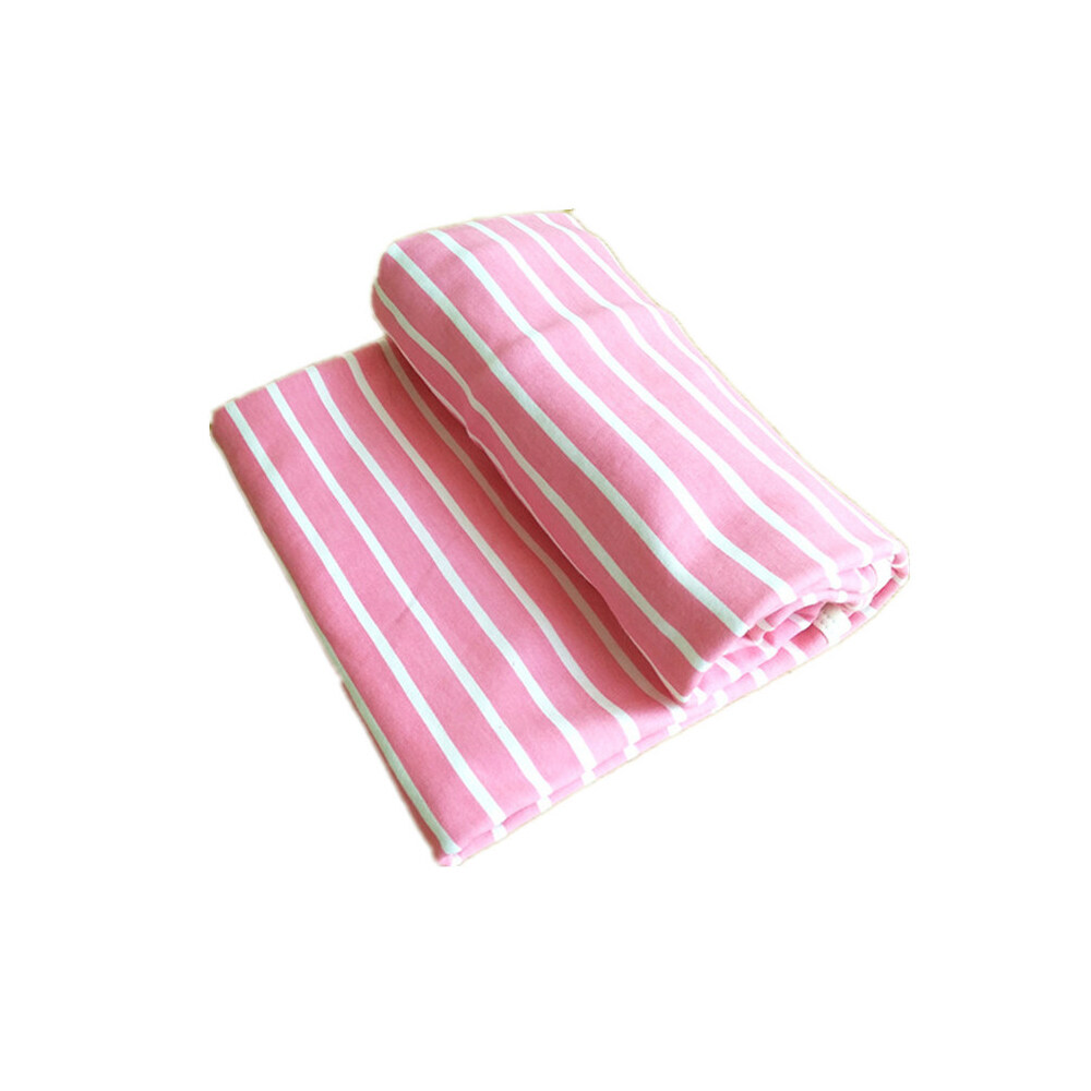 baby cotton jersey swaddle blanket pink