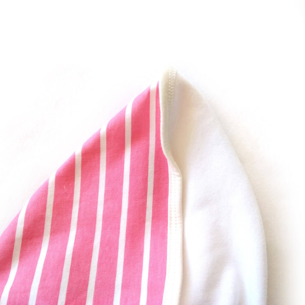 100% cotton jersey swaddle blanket fabric