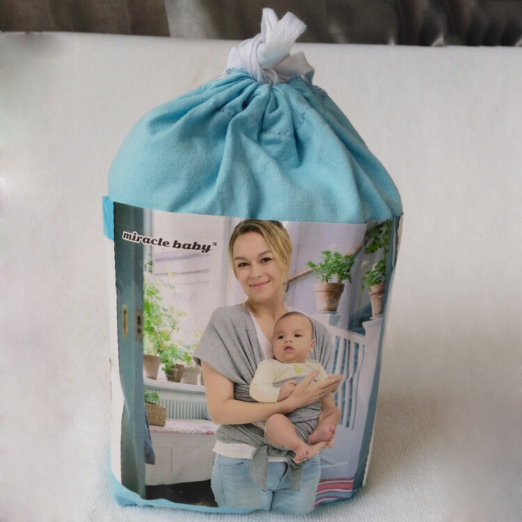 baby sling carrier blue