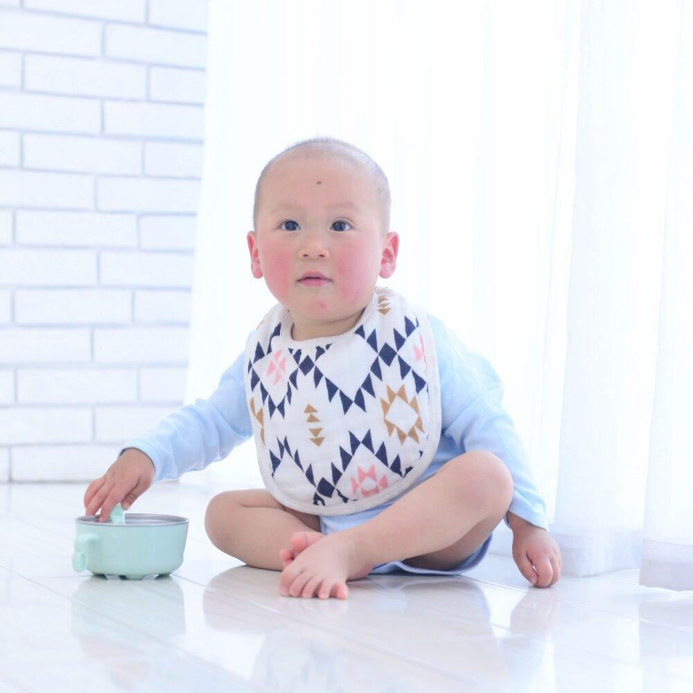 baby bib and burp cloth pattern