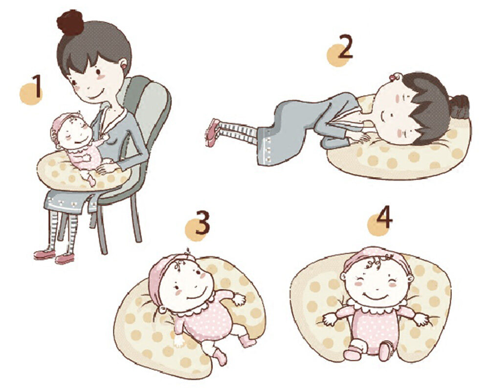 nursing pillow how to use