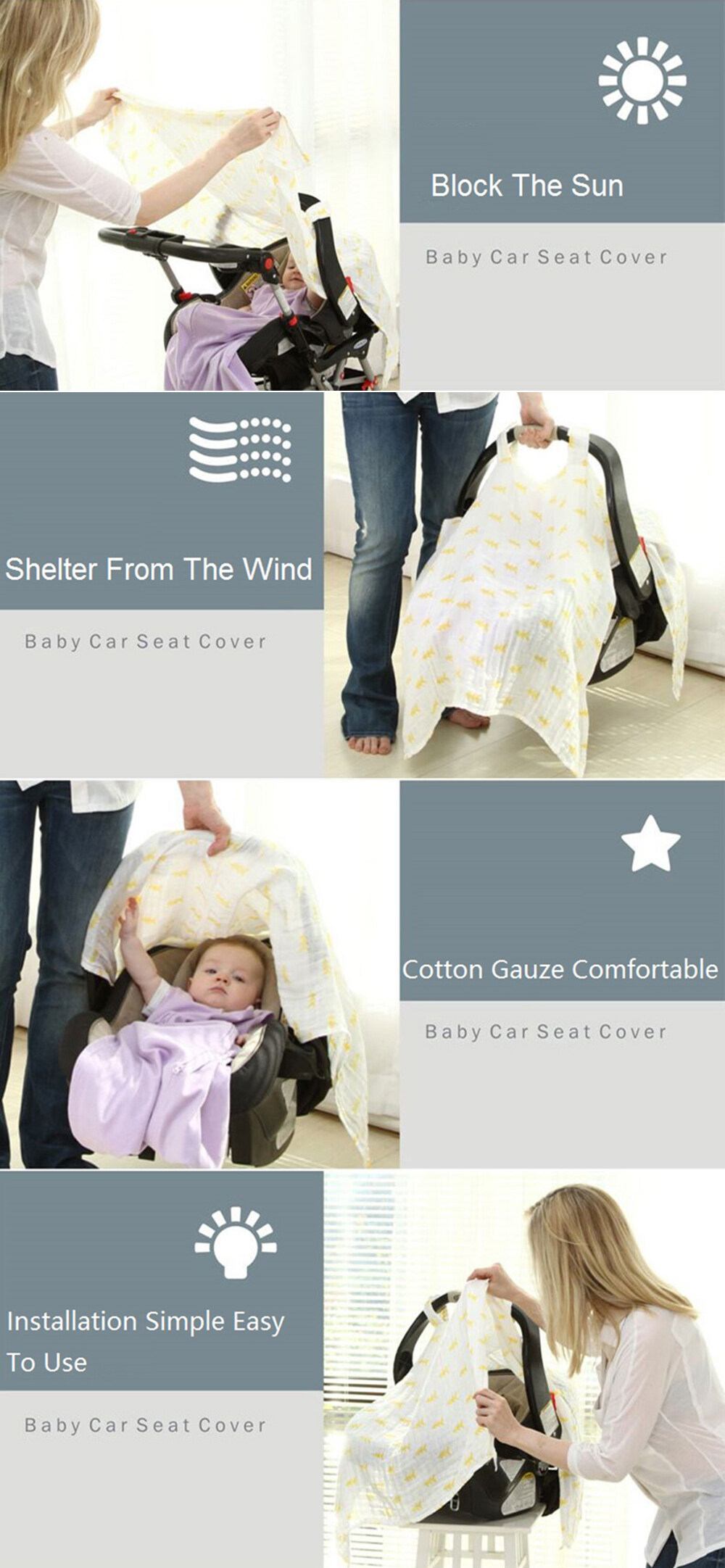 car seat cover for baby