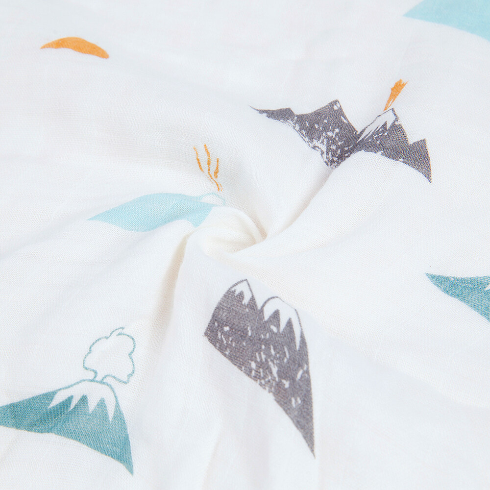 baby bamboo cotton muslin swaddle blanket