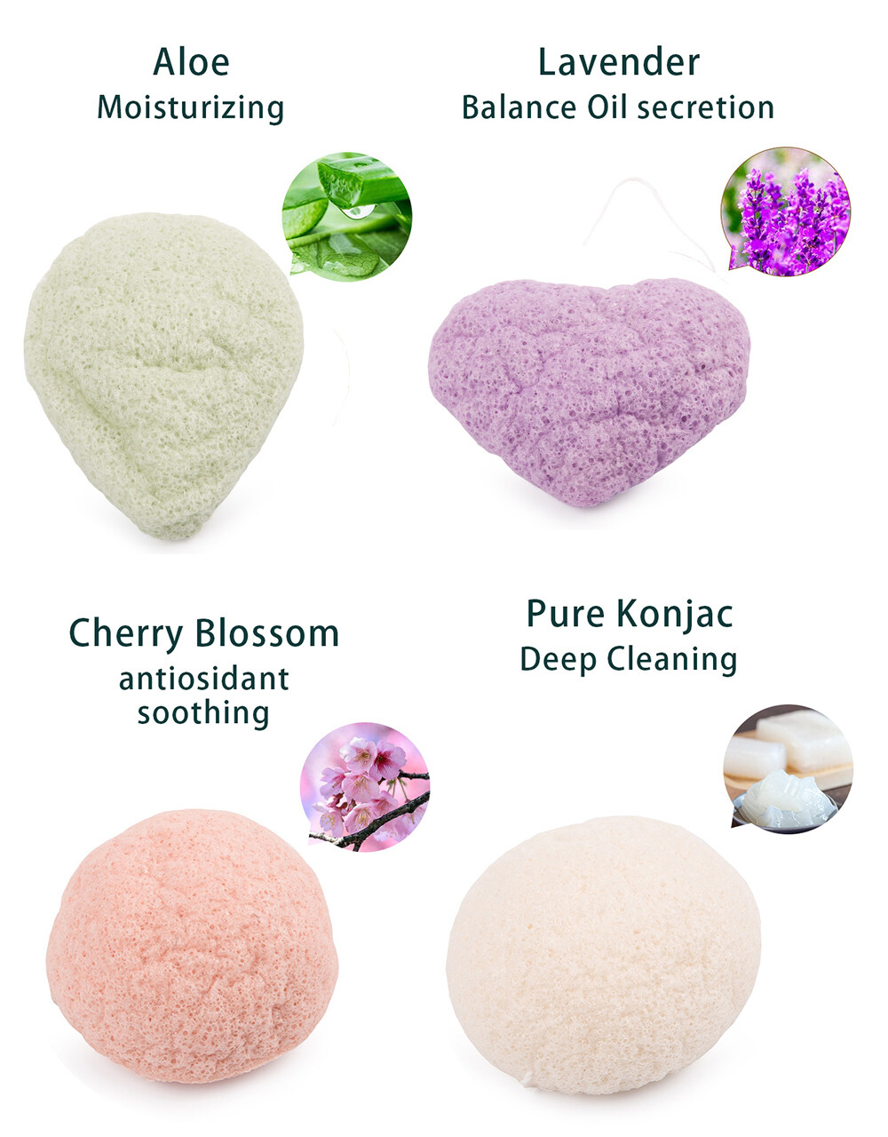 konjac sponge sensitive skin