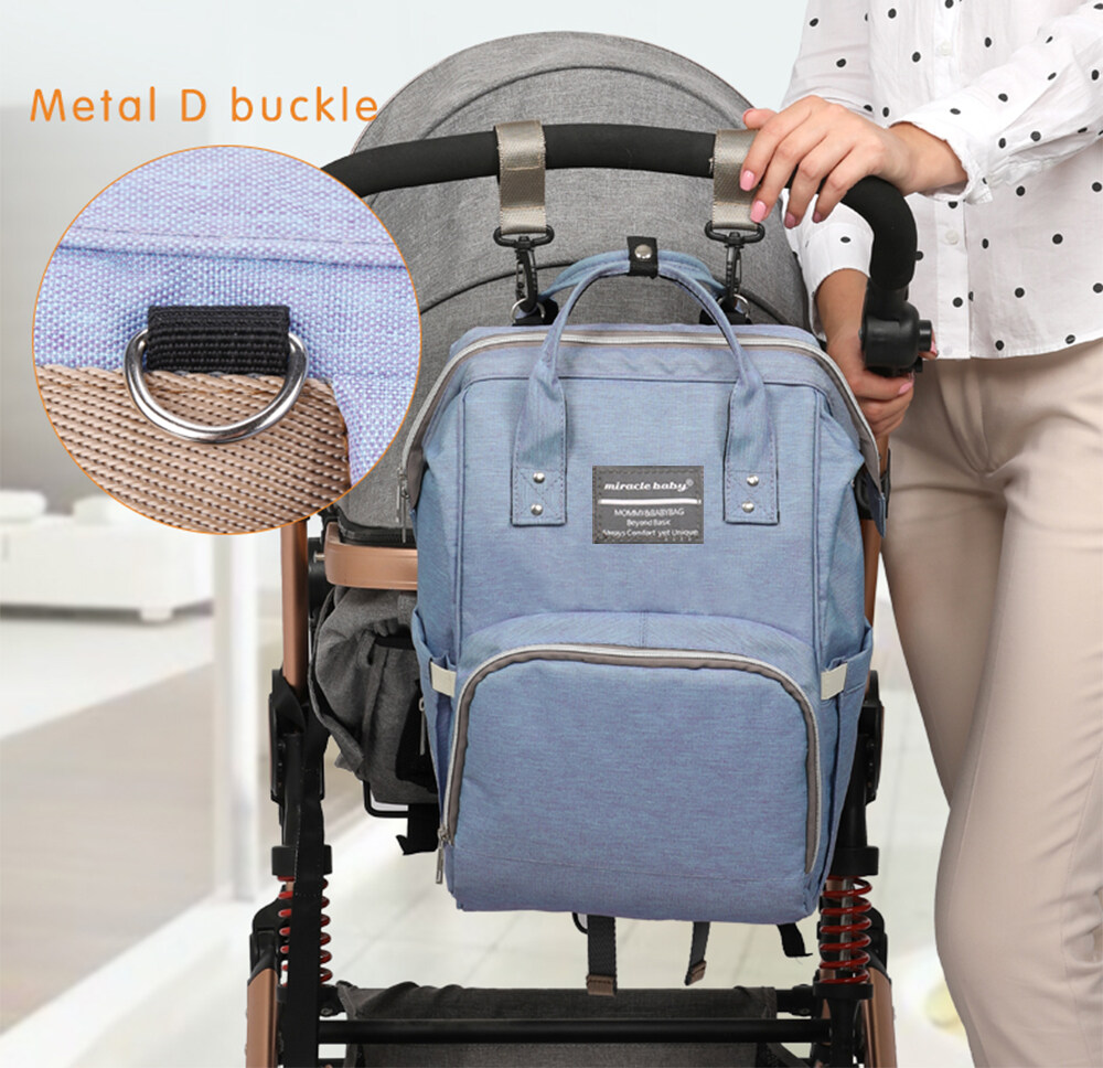 diaper bag hang on a stroller hook