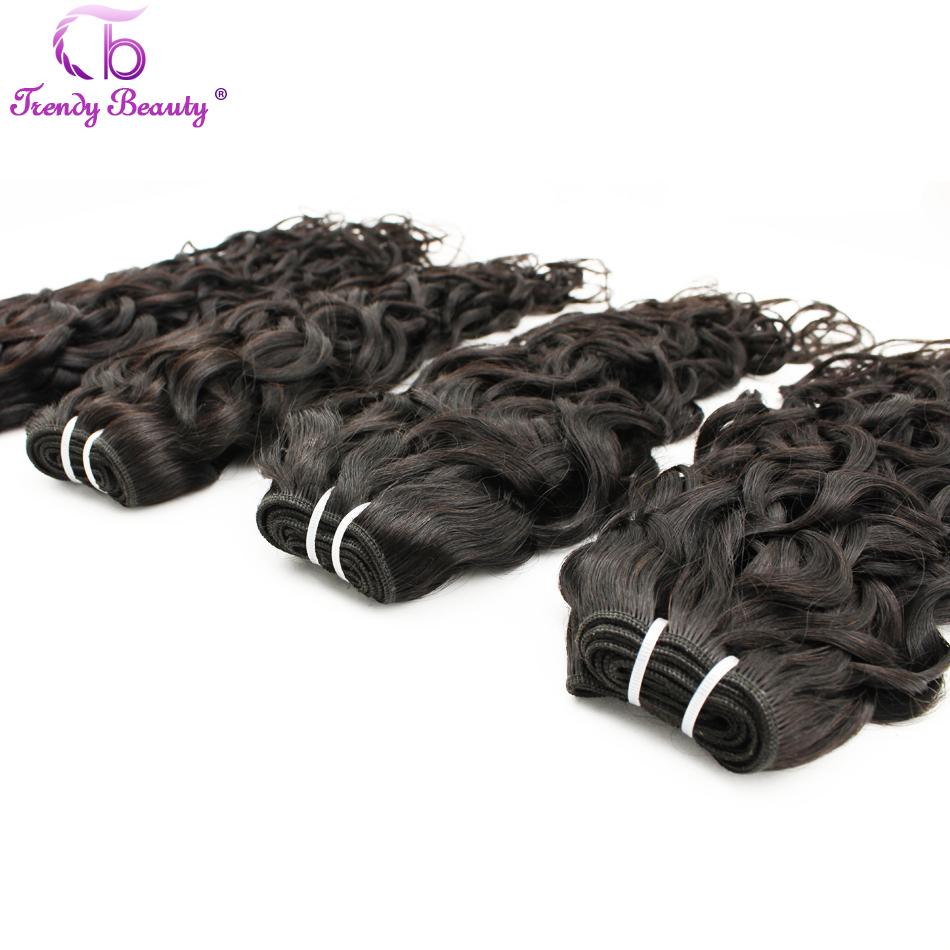 Peruvian Virgin Hair Water Wave Unprocessed Human Hair Extension