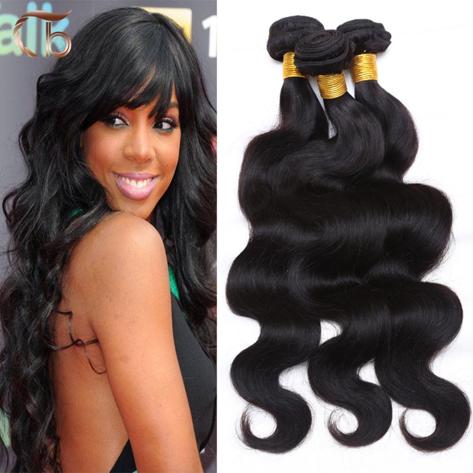7a Unprocessed Human Hair Brazilian Virgin Hair Body Wave Customized