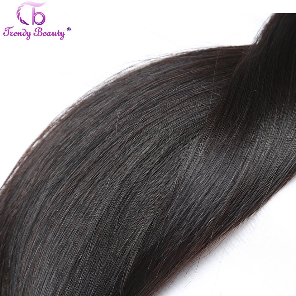 Trendy Beauty Brazilian Straight Hair Weave Bundles 100 Human Hair