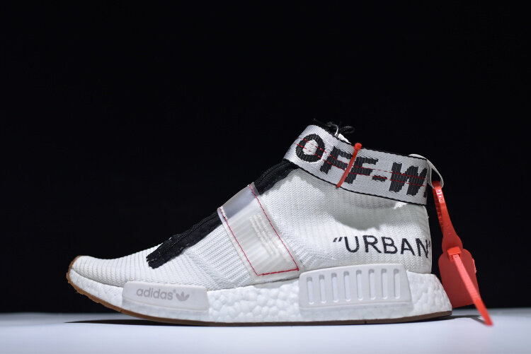 lowest price d9a98 41df3 OFF-WHITE x adidas NMD City Sock BA720827