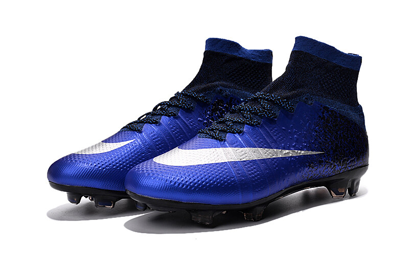 a269ee285b7 ... Superfly CR7 FG-Deep Royal Blue Soccer Cleats Boots FG soccer shoes US  Nike  Mercurial ...