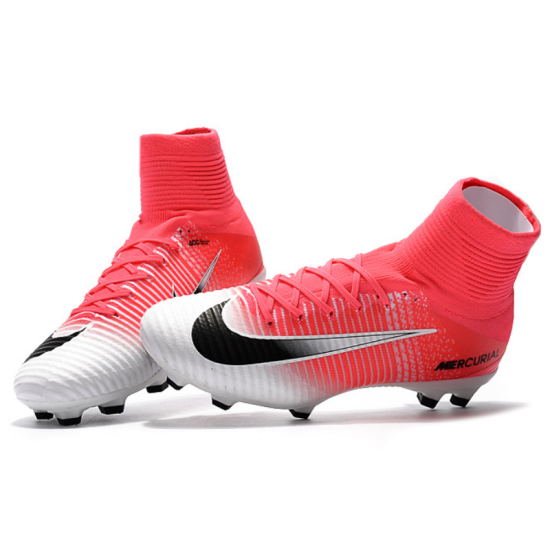 1cf8f8ba113e NIKE Mercurial Superfly V Pink Lady Heart Soccer Cleats Boots FG soccer  shoes US Size 3 ...