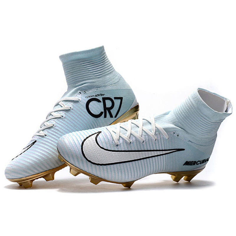 ed94c539321 CR7 Mercurial Superfly FG Outdoor Soccer Cleats Boots Kids Size