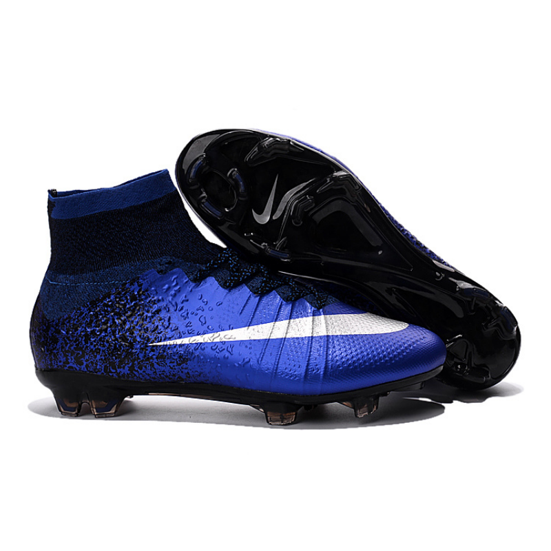 fea850eb683 copy of CR7 Mercurial Superfly FG Outdoor Soccer Cleats Boots Kids Size