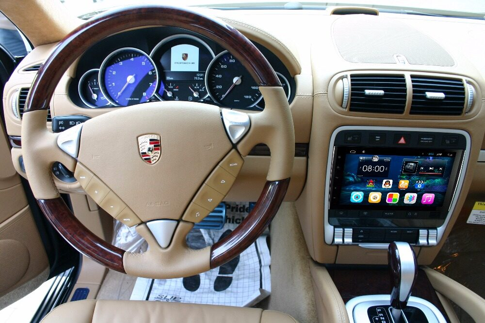 9 android autoradio headunit car stereo head unit for porsche demenstration publicscrutiny Image collections