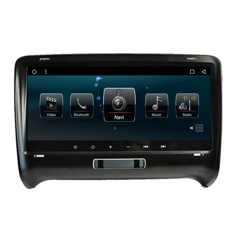 8 8 android 6 0 1 car multimedia gps navigation dvd radio audio for audi tt 2006 2007 2008 2009. Black Bedroom Furniture Sets. Home Design Ideas