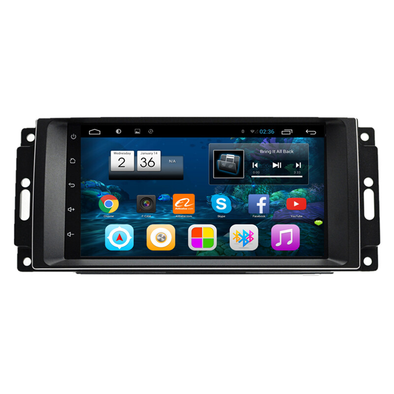 Android Car Multimedia Gps Navigation Dvd Radio Audio For Chrysler Sebring C Cirrus Jeep Wrangler Compass Commander