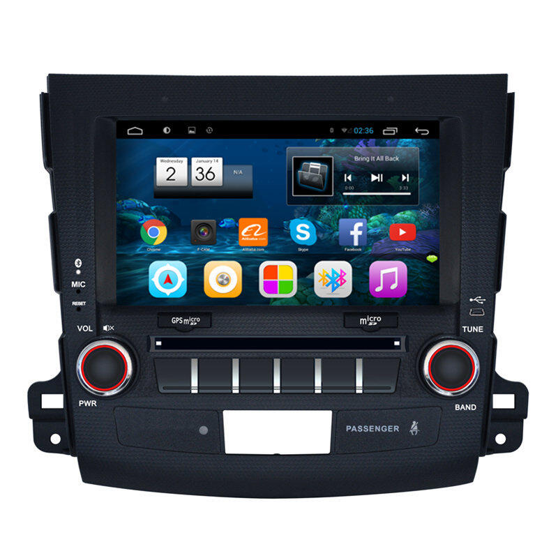 8 android car multimedia stereo gps navigation dvd radio audio head unit peugeot 4007 c crosser. Black Bedroom Furniture Sets. Home Design Ideas