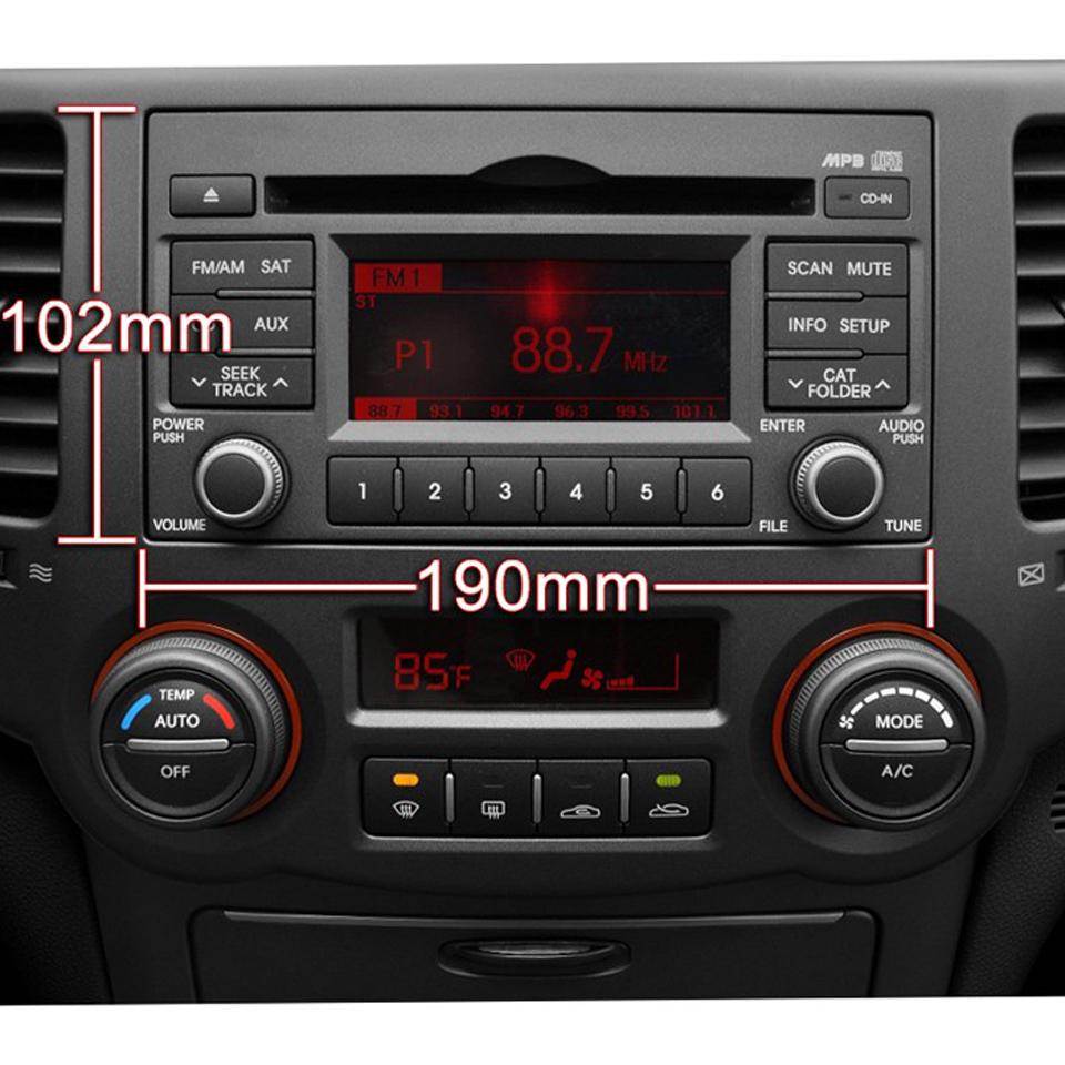 Android Autoradio Headunit Car Stereo Head Unit Kia Cerato Sportage Ceed Sorento Spectra Optima Rondo Rio Sedona Carens