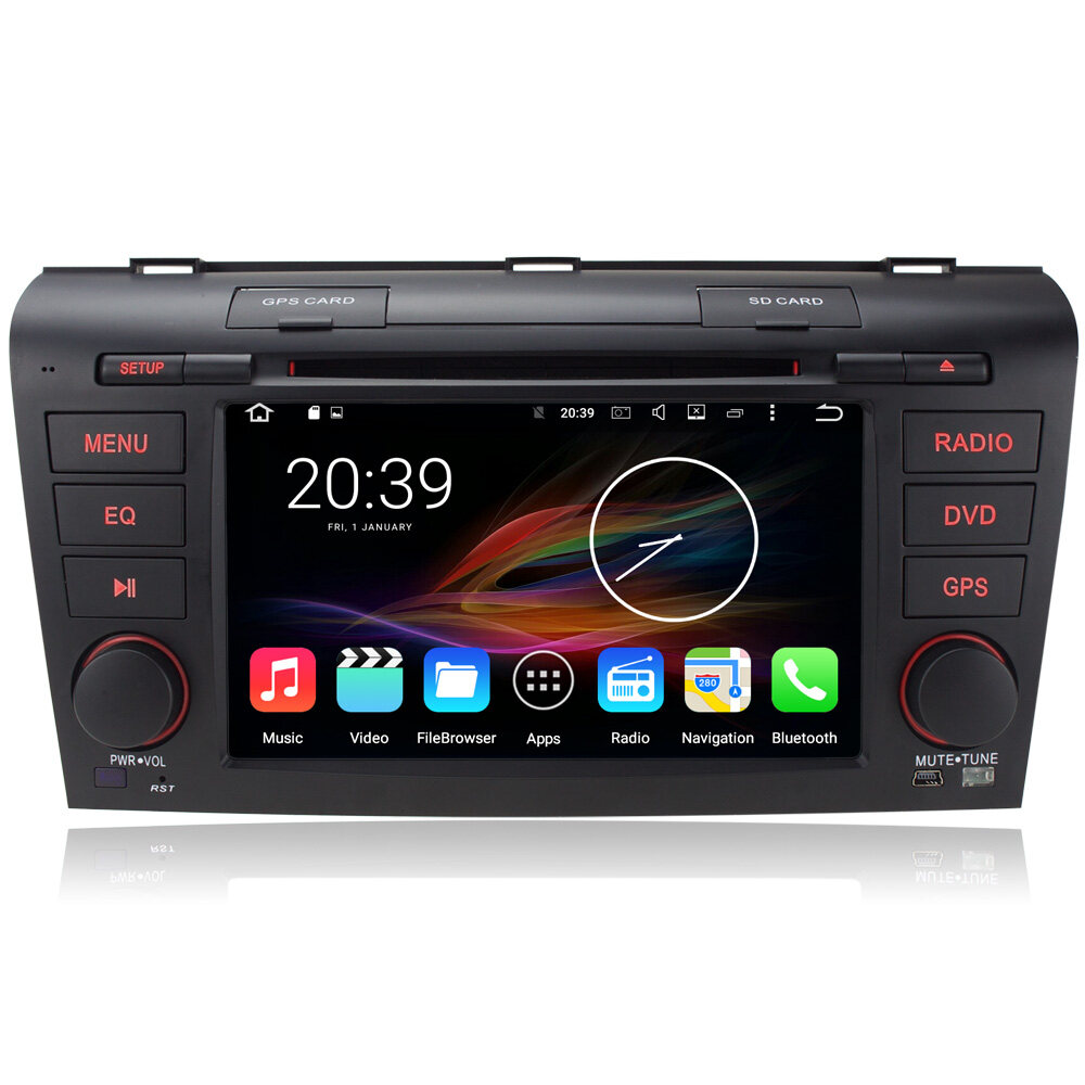 7 android autoradio car multimedia stereo gps navigation. Black Bedroom Furniture Sets. Home Design Ideas