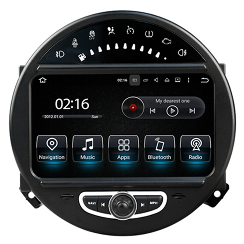 8 android car multimedia gps navigation dvd radio audio mini cooper 2007 2008 2009 2010 2011. Black Bedroom Furniture Sets. Home Design Ideas
