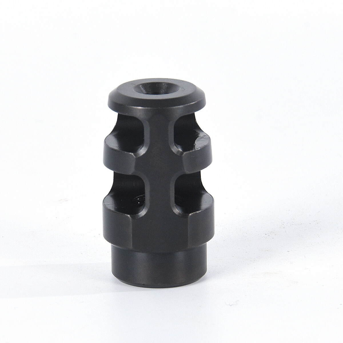 223 Recoil Compensator 5.56 Muzzle 1//2-28 TPI Heat Treated Steel w// Washer Nut