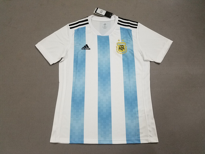 Argentina Home 2018 World Cup Soccer Jersey Fan Version 234d50c93